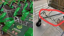 Woolworths reveals truth behind viral trolley photo