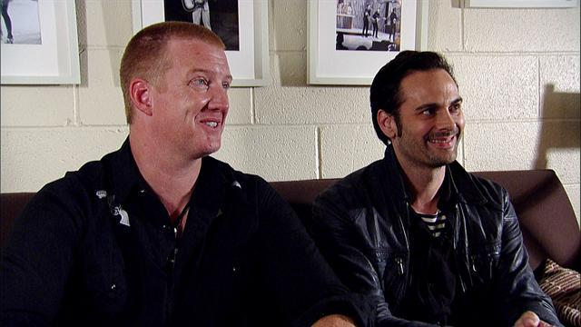 Queens of the Stone Age - Live On Letterman Interview