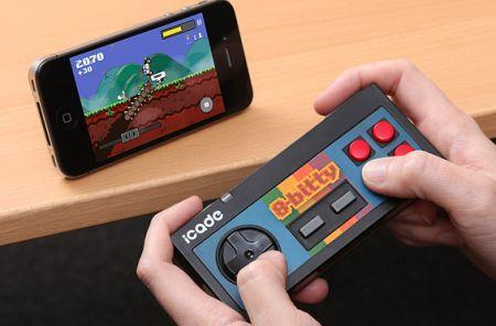 ThinkGeek's 8-bitty controller isn't bad, if you already want one
