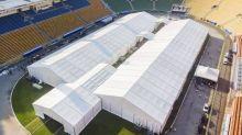 Estádio do Pacaembu vira hospital de campanha e tem auxílio da LG