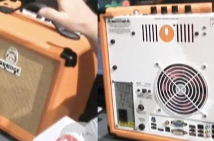 Orange Music puts PC into guitar amp -- ours is not to reason why