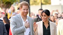 Meghan and Harry receive warm welcome during first Sussex visit as Duke and Duchess
