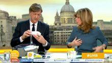 'GMB' viewers bemused as Richard Madeley demonstrates male breastfeeding kit