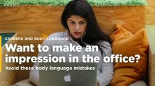 Want to make an impression in the office? Avoid these body language mistakes