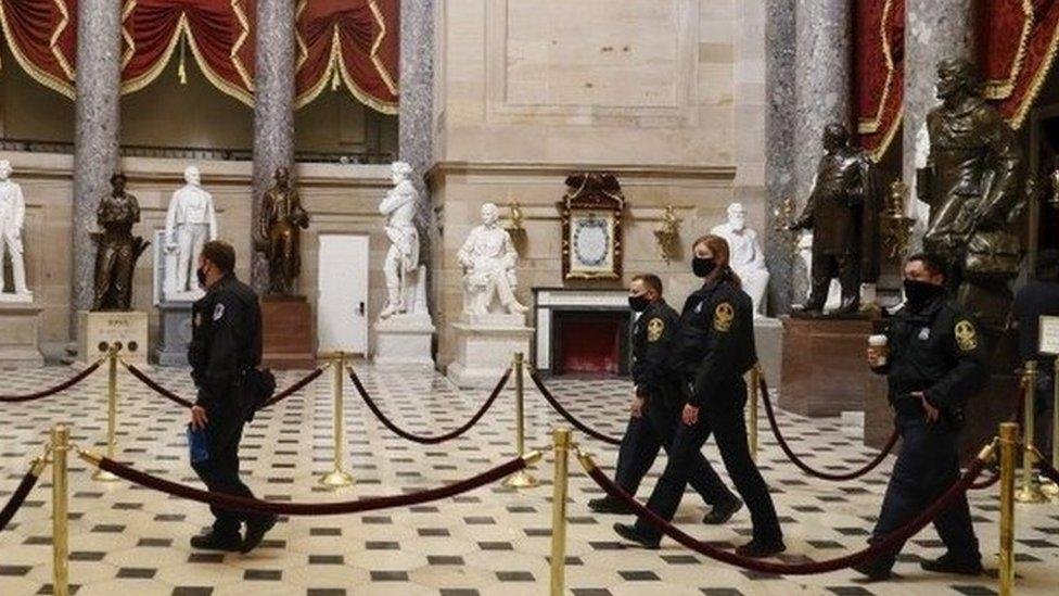 Capitol riot: Recriminations and arrests after Washington ...