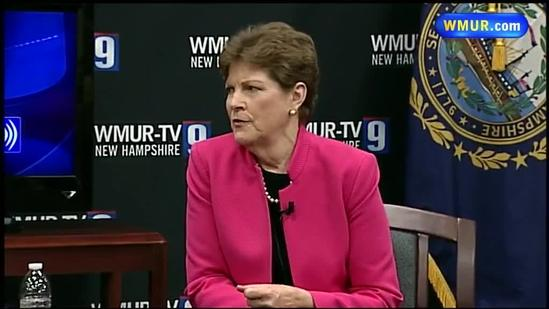 Shaheen answers questions from constituents