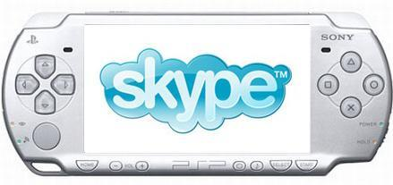 """Sony """"planning"""" to bring Skype to PSP"""