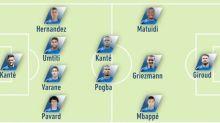 Foot - Bleus - France - Croatie: où en sont les Bleus de la finale de la Coupe du monde 2018?