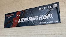 United Airlines' Spider-Man tie-in is banner news