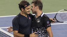 Federer achieves 14-year first in win over Wawrinka
