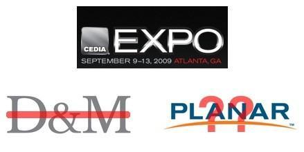 Tough economy sidelines D&M Holdings, Planar at CEDIA Expo 2009