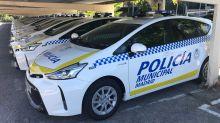 La Policía Municipal de Madrid recibe 50 Toyota Prius+