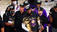 """NBA: les Lakers décrochent leur 17e étoile, la plus """"Bryant"""""""