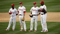 Phillies lose to Royals 13-4 in home opener
