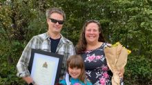 7-year-old 'hero' honoured by Squamish RCMP for helping save her mother's life