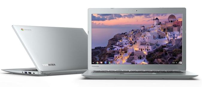 Toshiba's retooled Chromebook 2 arrives in October, starts at $330