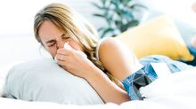 The flu can be spread just by breathing