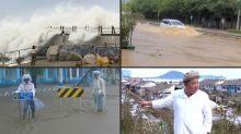Depois do Japão, tufão atinge península coreana