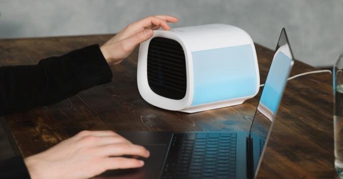 The EvaChill EV-500 portable air conditioner.