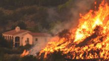 Preventative Fires Set Near Homes in Montecito, California