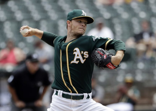 Which team will land A's pitcher Sonny Gray? (AP)
