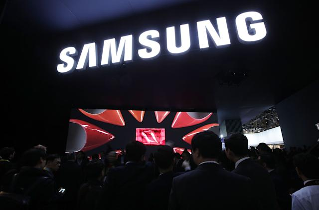 Live from Samsung's CES 2018 press conference!