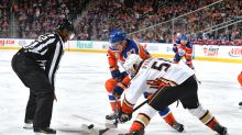 Ducks coach says Oilers will whine about faceoffs