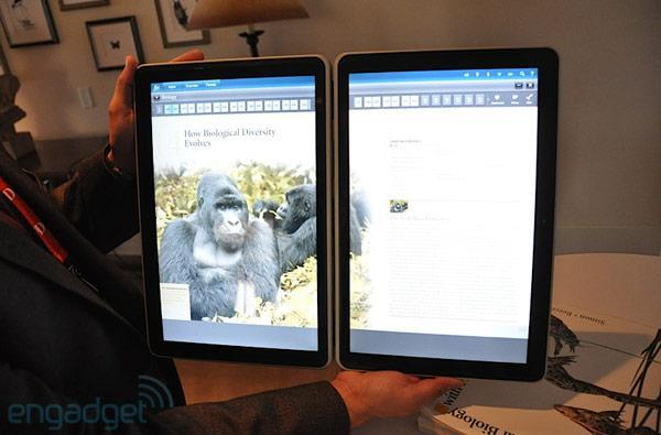 Kno dual-screen tablet appears at D8, we go hands-on