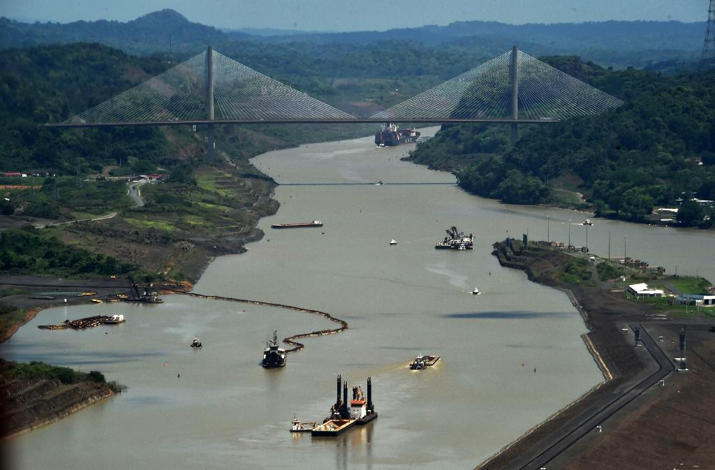 Work to broaden the Panama Canal -- originally started by the French and then built by the United States -- began in 2007