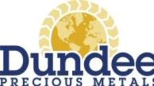 Dundee Precious Metals Achieves Record Gold Production in 2020; Announces Timing of Q4/20 Financial Results