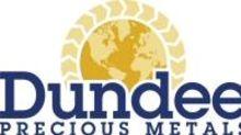 Dundee Precious Metals Announces Investment in Velocity Minerals Ltd.