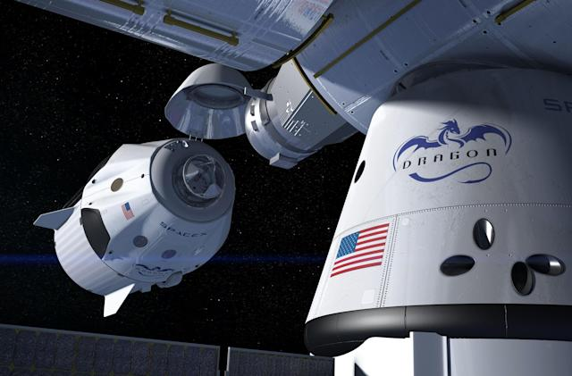 NASA orders a second ISS crew delivery from SpaceX