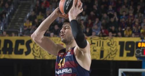Basket - Euroligue (H) - Barcelone a battu Tel-Aviv lors de la 29e journée de l'Euroligue