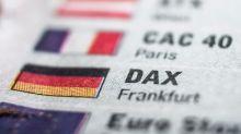 Dax breaks the neckline