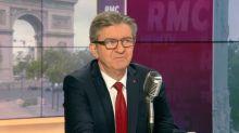 """""""Autant aller à la Foire du Trône"""" : Mélenchon réagit à la sortie de Macron au jardin des Tuileries"""
