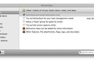ActionGear, simple yet powerful task management