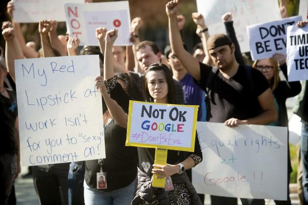 Google employees will sit-in to protest retaliation culture