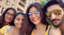Sushmita Sen Can't Stop Gushing Over BF Rohman Shawl As He Tutors Daughter Alisah