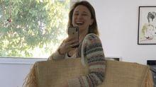 Filho de Paula Braun compra bolsa de R$ 6.900 pela internet, e ela brinca: 'Usem camisinha'