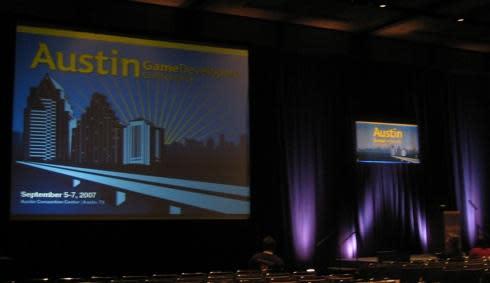 Austin GDC: Live at the Hiromichi Tanaka keynote