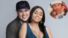 Rob Kardashian and Blac Chyna share first photo of baby girl