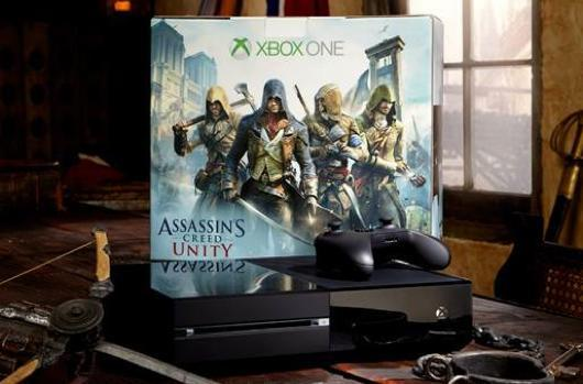 Assassin's Creed Unity Xbox One bundles include AC4: Black Flag