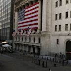US STOCKS-Wall Street closes sharply higher on signs of economic rebound
