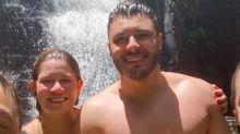 """Marília Mendonça """"namora"""" em cachoeira antes de voltar ao trabalho"""