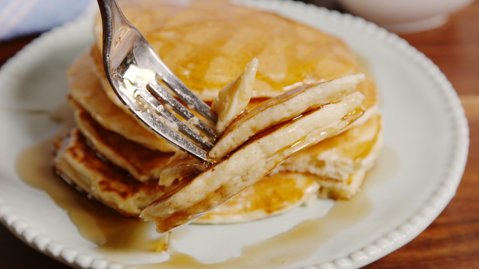 how to make perfect pancakes from scratch