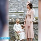 Royal Trouble! Prince George Sobs After Getting Scolded by Kate at Pippa Middleton's Wedding