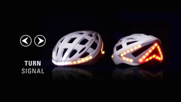 Lumos: Der Fahrradhelm mit Bremslichtern