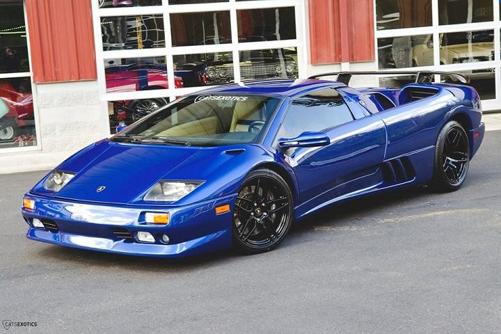 Own A Gorgeous Blue 99 Lamborghini Diablo With Only 15k Miles