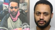 Jailed: 'Vile' rapist who hunted for targets on trains and tied up victim in her flat