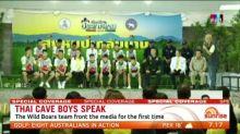 Thai cave boys tell of their ordeal
